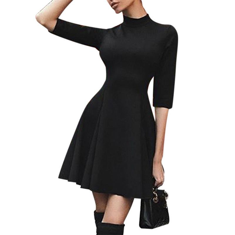 27feca1651d2f 2019 Sexy Off Shoulder Summer Women Dress Female Womens Holiday O Collar  Party Ladies Casual Dress Half Sleeve Dress Party Discount Prom Dresses  Formal ...