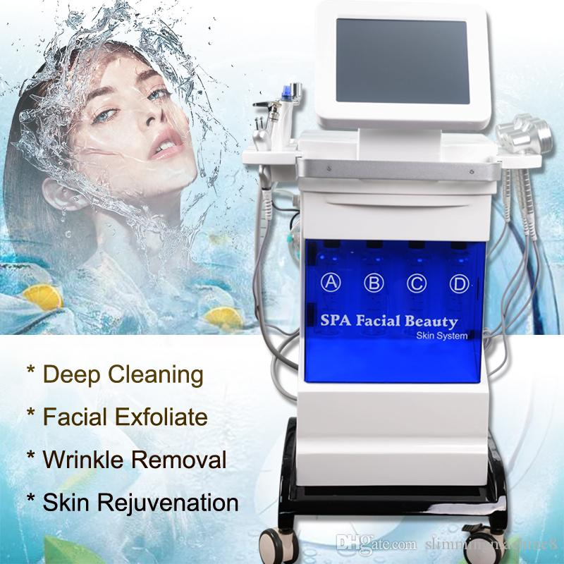 Multifunctional professional microdermabrasion Facial SPA Treatment hydro dermabrasion machine Skin deep cleaning hydra facial machine CE