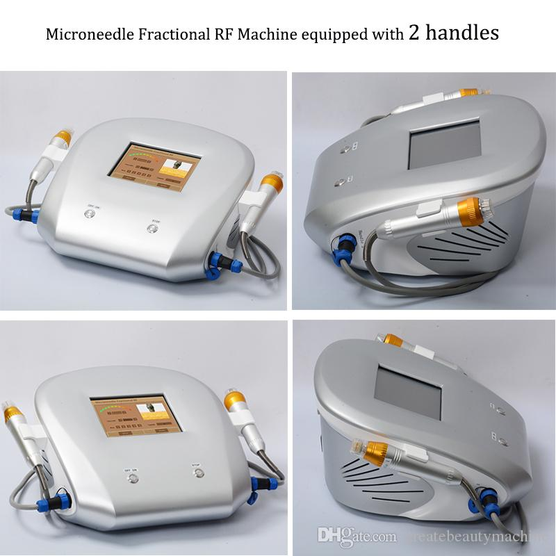 Fractional rf microneedle machine facial magic micro needle roller tattoo speed removal portable fractional rf device