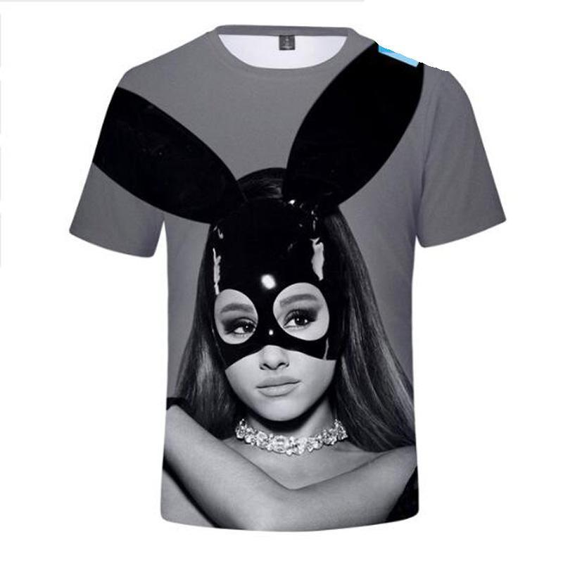 b116e2a3 Ariana Grande 3D T Shirt Dangerous Woman Short Sleeve T Shirts Male Female  God Is A Woman T Shirts For Women Cartoon Tee Shirts Really Funny T Shirts  Funny ...
