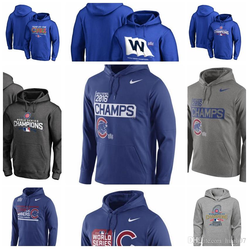 new product bc057 1930d Chicago Cubs 2016 World Series Champions Celebration Local Bound Logo  Locker Room Pullover Performance Hoodie