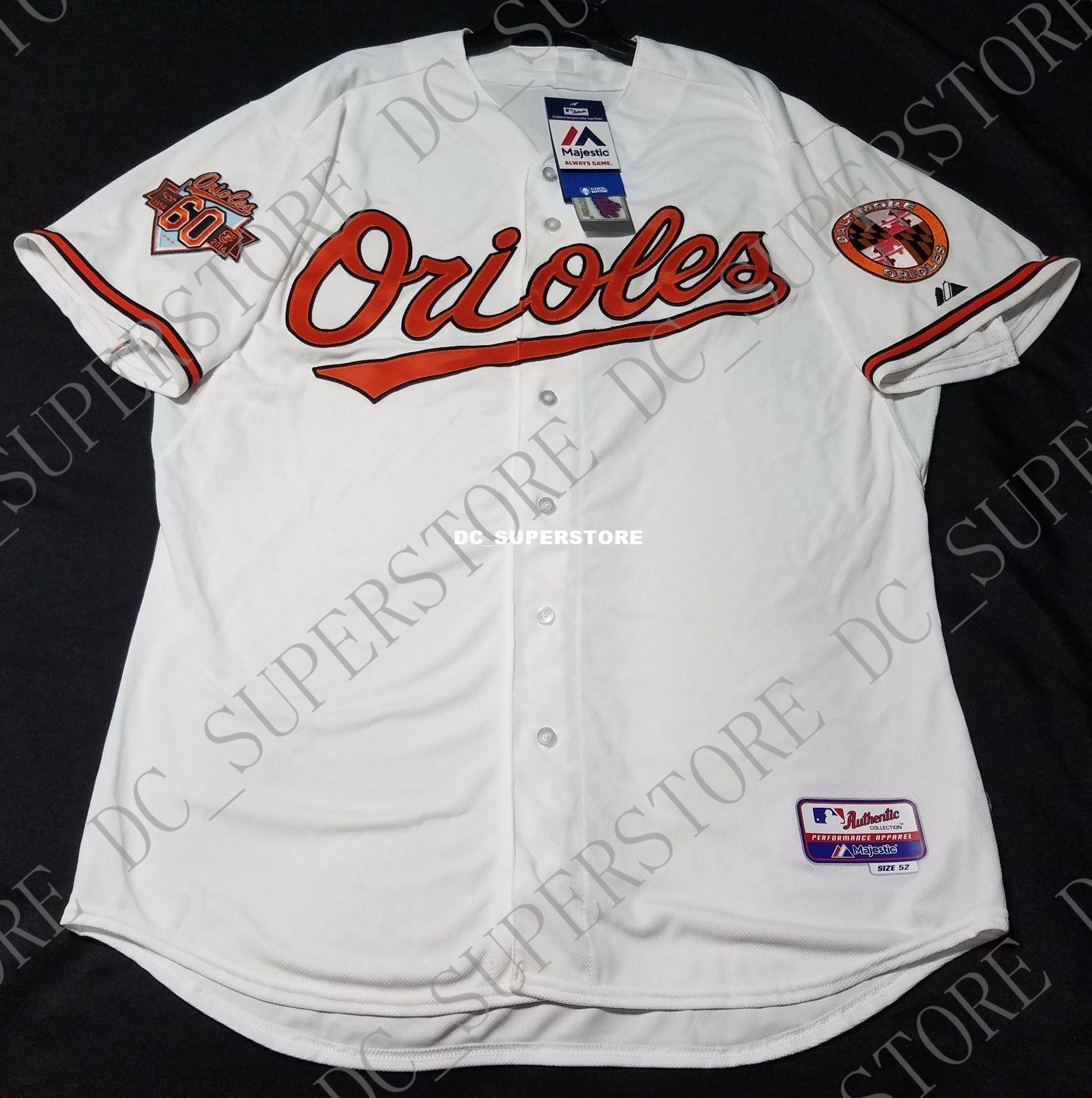 a2b4459af Cheap Wholesale BALTIMORE HOME WHITE COOL BASE Jersey Stitched ...