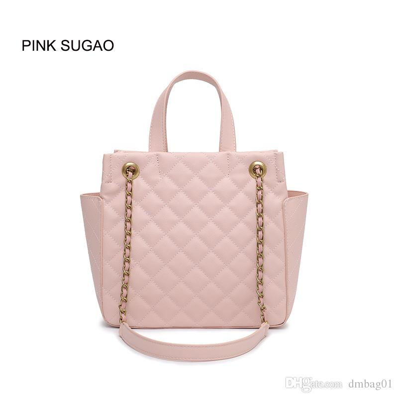 Pink Sugao 2019 New Fashion Tote Bag Designer Women Shoulder Bags Luxury  Leather Handbags Large Capacity Brand Handbags Wholesales Tote Bag Designer  Handbag ... 7e57497038