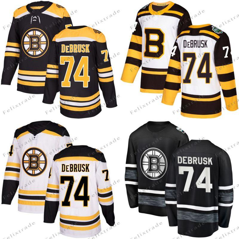 online store 1e898 e68b2 74 Jake DeBrusk Boston Bruins 2019 Winter Classic All Star Chris Wagner  Danton Heinen Charlie McAvoy Brad Marchand David Pastrnak Jersey