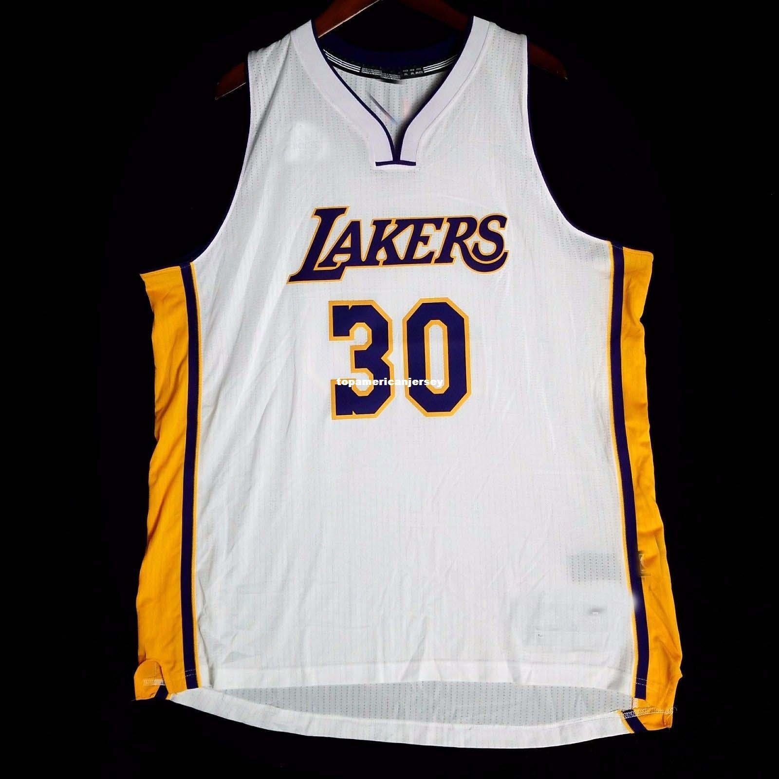 new products 09c5b 4073c 100% Stitched Julius Randle #30 vest wholesale Jersey kobe Mens Vest Size  XS-6XL Stitched basketball Jerseys Ncaa