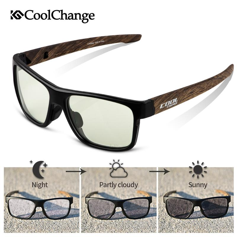 f9bf063eaa CoolChange Cycling Eyewear Outdoor TR-90 Photochromic Bicycle ...