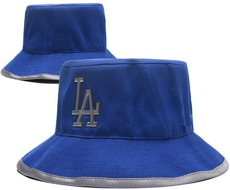 206275679ce5e Fashion Embroidery Los Angeles Cap Bucket Hat LA Fisherman Hat ...
