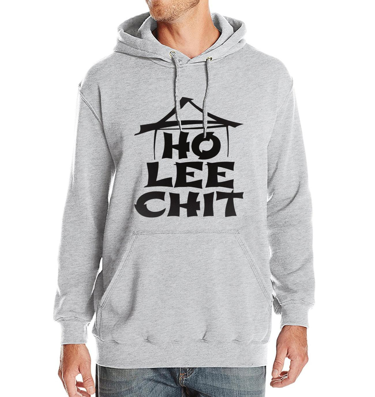 2019 Spring Winter Hoody Fleece High Quality Sweatshirts With Hat Ho Lee Chit Holy Sh*t Fashion Streetwear Hip Hop Mens Hoodie