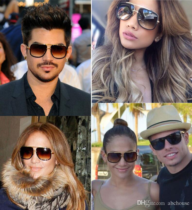 d5a49896971 Fashion Square Men Cool Sunglasses Women Luxury Brand Designer Celebrity  Sun Glasses Male Driving Superstar Glasses Female Shades Cheap Designer  Sunglasses ...