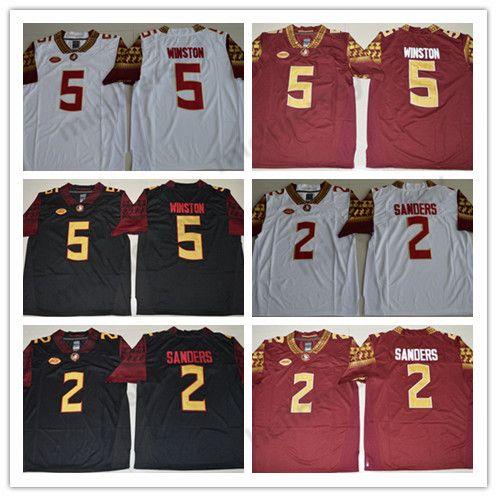 9b7fdf90f6f 2019 Florida State Seminoles 5 Jameis Winston College Football Stitched  Jerseys 2 Deion Sanders Mens Stitched Ncaa Jersey From Hellomicki, $16.71 |  DHgate.