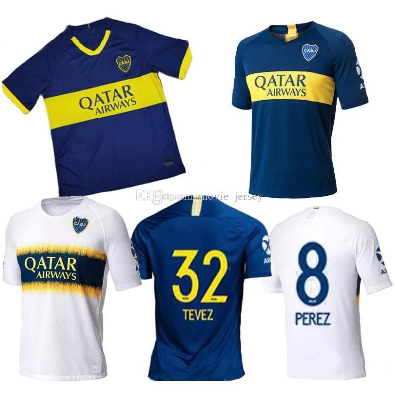 the best attitude 68891 60f3a 2019 Boca Juniors Trikot Heim Auswärts 19 20 Boca Juniors GAGO OSVALDO  CARLITOS PEREZ P Trikot