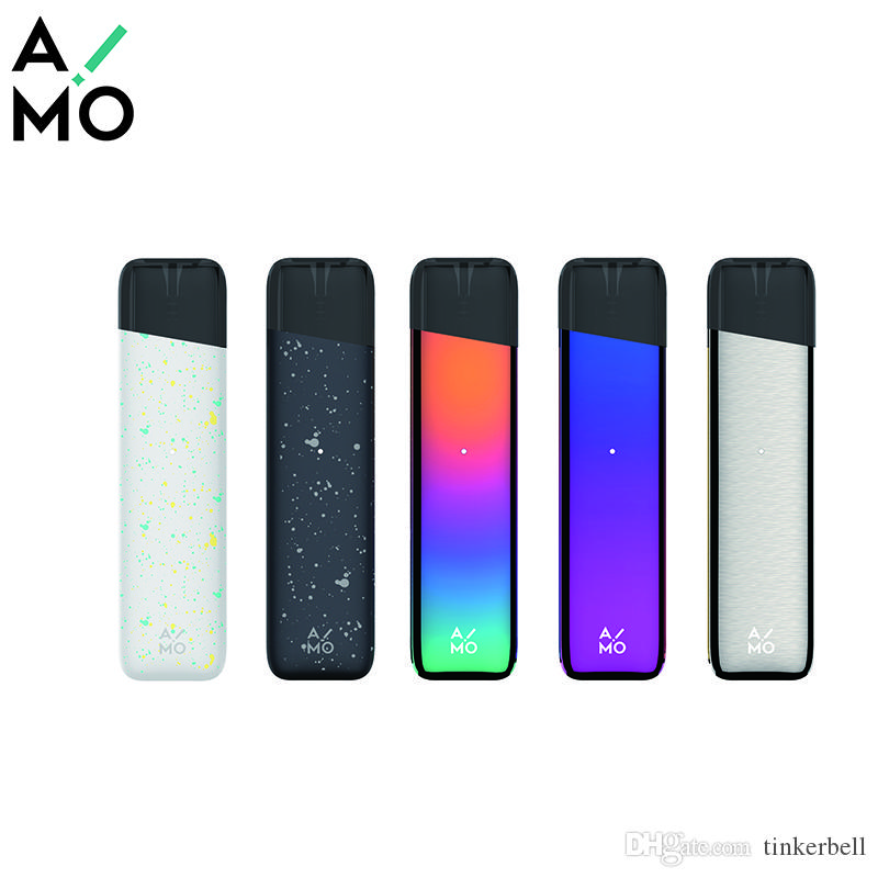 AIMO Mount Pod Vape Pen Built-in 400mAh 1.8ml Pod Vape Cartridge for Oil Ceramic Coil Magnetic Connection Vape Cartridge E-cigs Kit