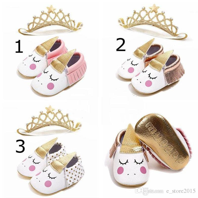 8da01809f0 Unicorn Toddler Baby Walking Shoes Soft Sole First Walker Toddler Moccasins  Baby Antislip Sneaker soft PU Leather Infants Shoes 0101172