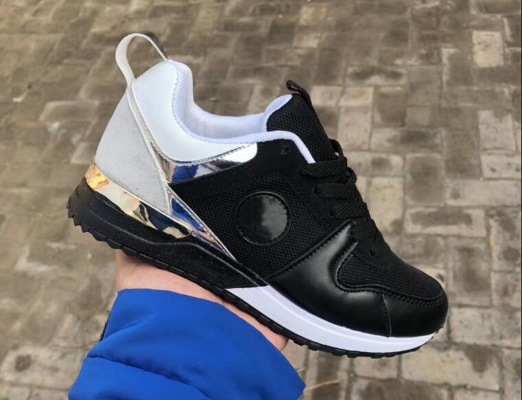 12c8b59a46f Compre 2019 Marca De Lujo Casual Zapatos Deportivos Para Hombres Mujeres De Corte  Bajo Correr Lejos Zapatilla De Deporte Zapatos De Entrenamiento Unisex ...