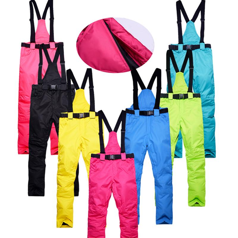 c65fe7cecd7 Windproof Waterproof Warm Winter Snow Snowboard Women Ski Pants ...