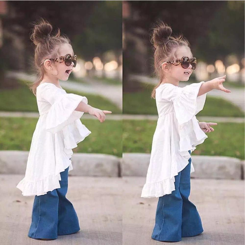 2016 Newest Mommy And Me Spring Dress Baby Fairy Style Wrinkle Ruffles  Cotton Summer Toddler Casual Kids Everyday Girls Dress Mommy Daughter  Matching ... a6b4b61f5