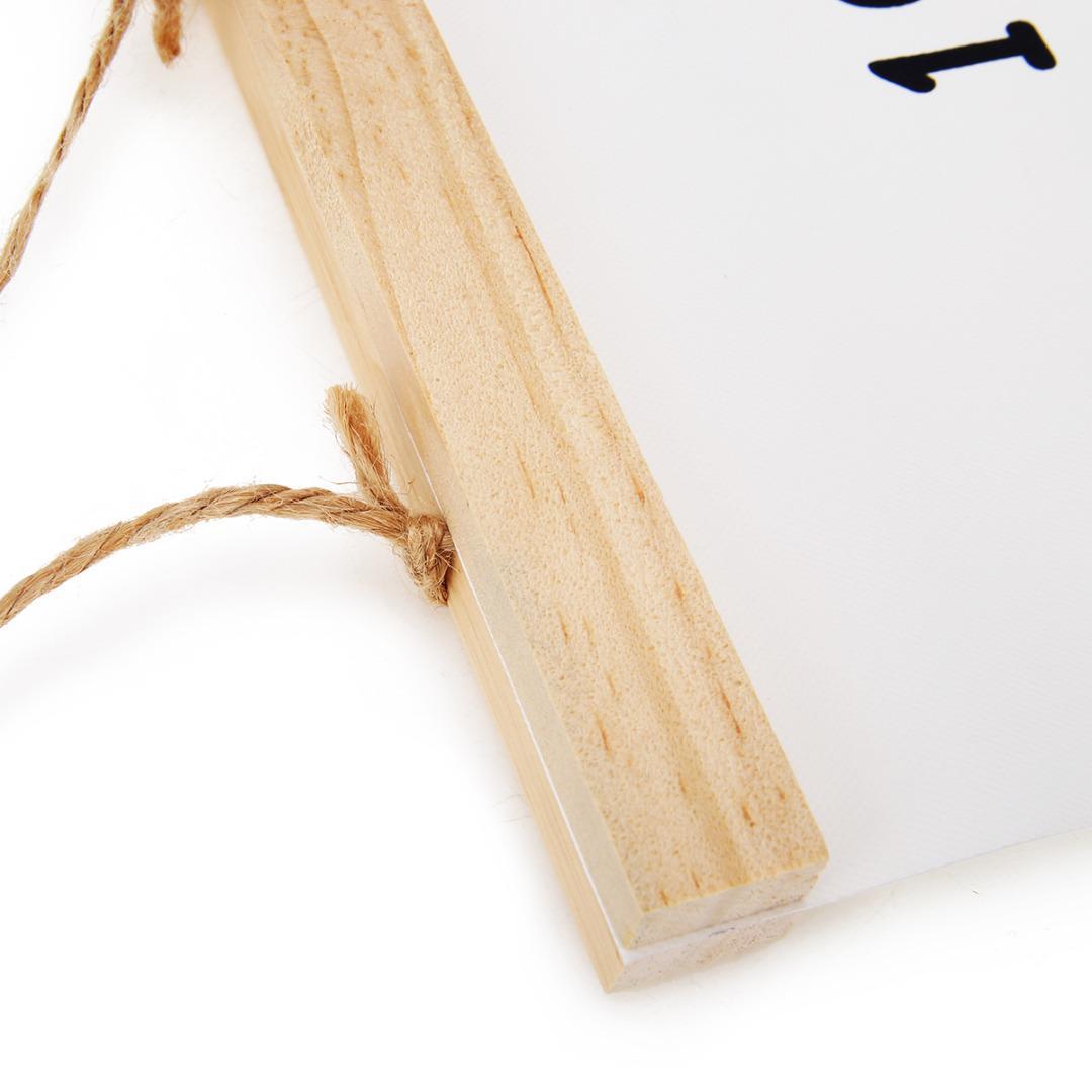 Crianças de madeira Gráfico Altura Adesivo de Parede Preto Altura Governante Altura Gráfico Gráfico de Crescimento Medida Para Casa Crianças Quarto Decoração