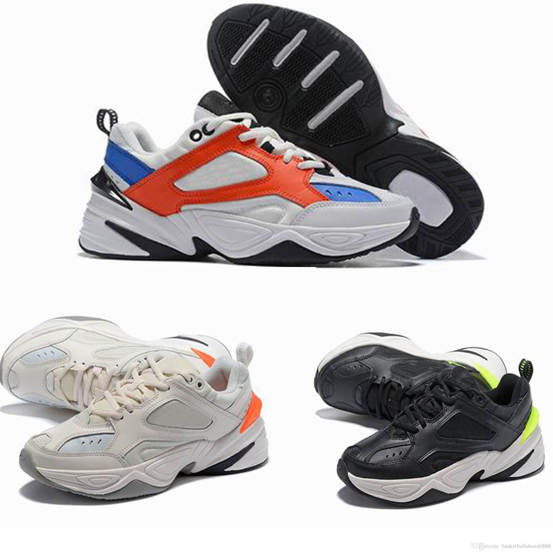 separation shoes 59276 5b964 Hot sale M2K Tekno Dad Sports Running Shoes Top quality Women Mens Designer  Zapatillas Sports Trainers Sneakers US 5.5-11 with box