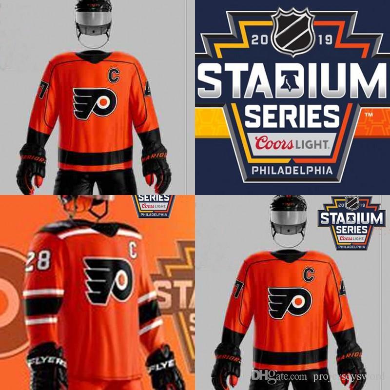 ... coupon code 2019 philadelphia flyers 2019 stadium series jerseys 28  claude giroux 9 ivan provorov 14 0253f81c7