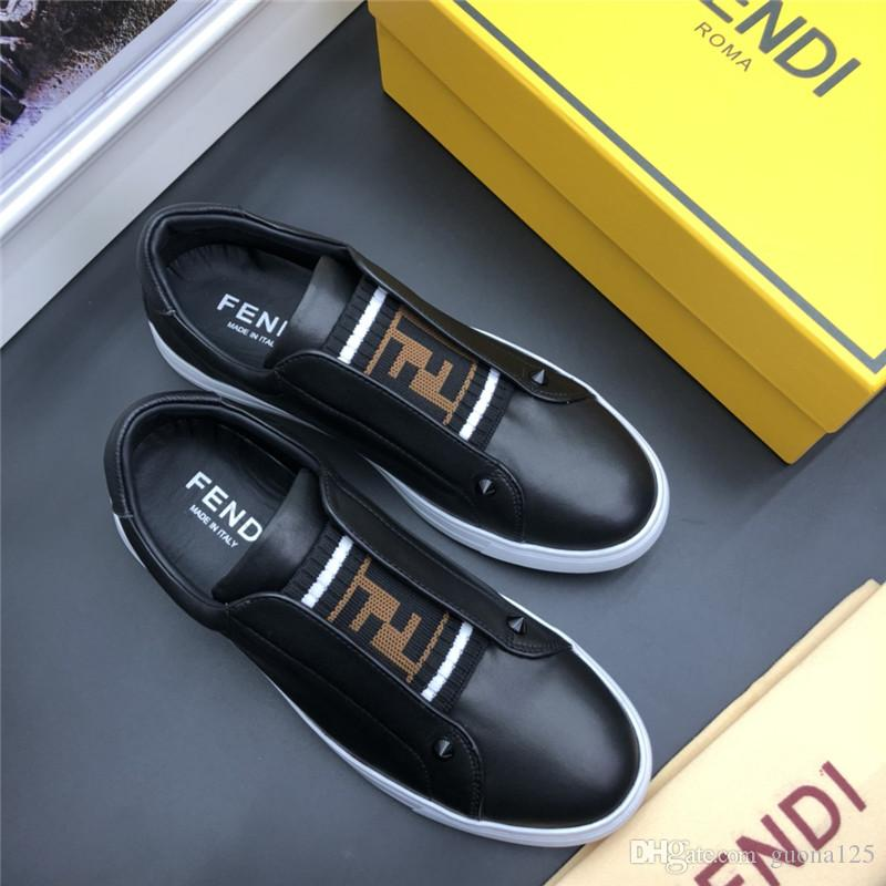 2019 Mens designer shoes Shoe Beautiful Platform Casual Sneakers Luxury Designers Shoes Leather Solid Colors Dress Shoe D04
