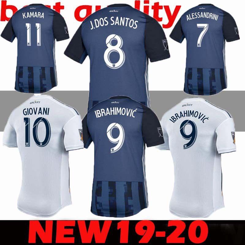Thai Quality 2019 LA Galaxy Soccer Jersey 19 20 Los Angeles Away ... c308a968c