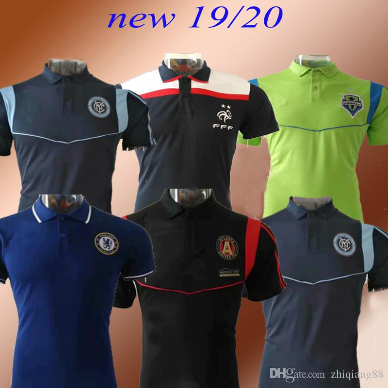 2019 Atlanta Seattle HAZARD polo da calcio 2019 2020 parigi maillot de foot city POGBA OZILAtlanta unite maglie da calcio