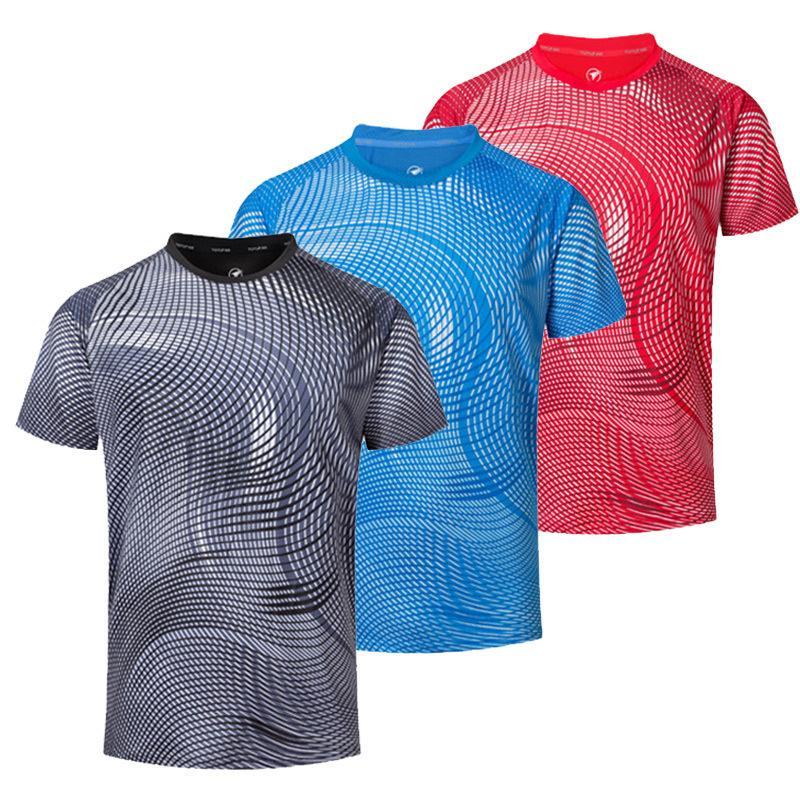 2311ddee4 Compre 2019 NUEVAS Camisetas De Tenis Personalizadas Gratis Para Hombres /  Mujeres, Camisetas De Bádminton, Tenis De Mesa Para Hombres, Camisetas De  ...