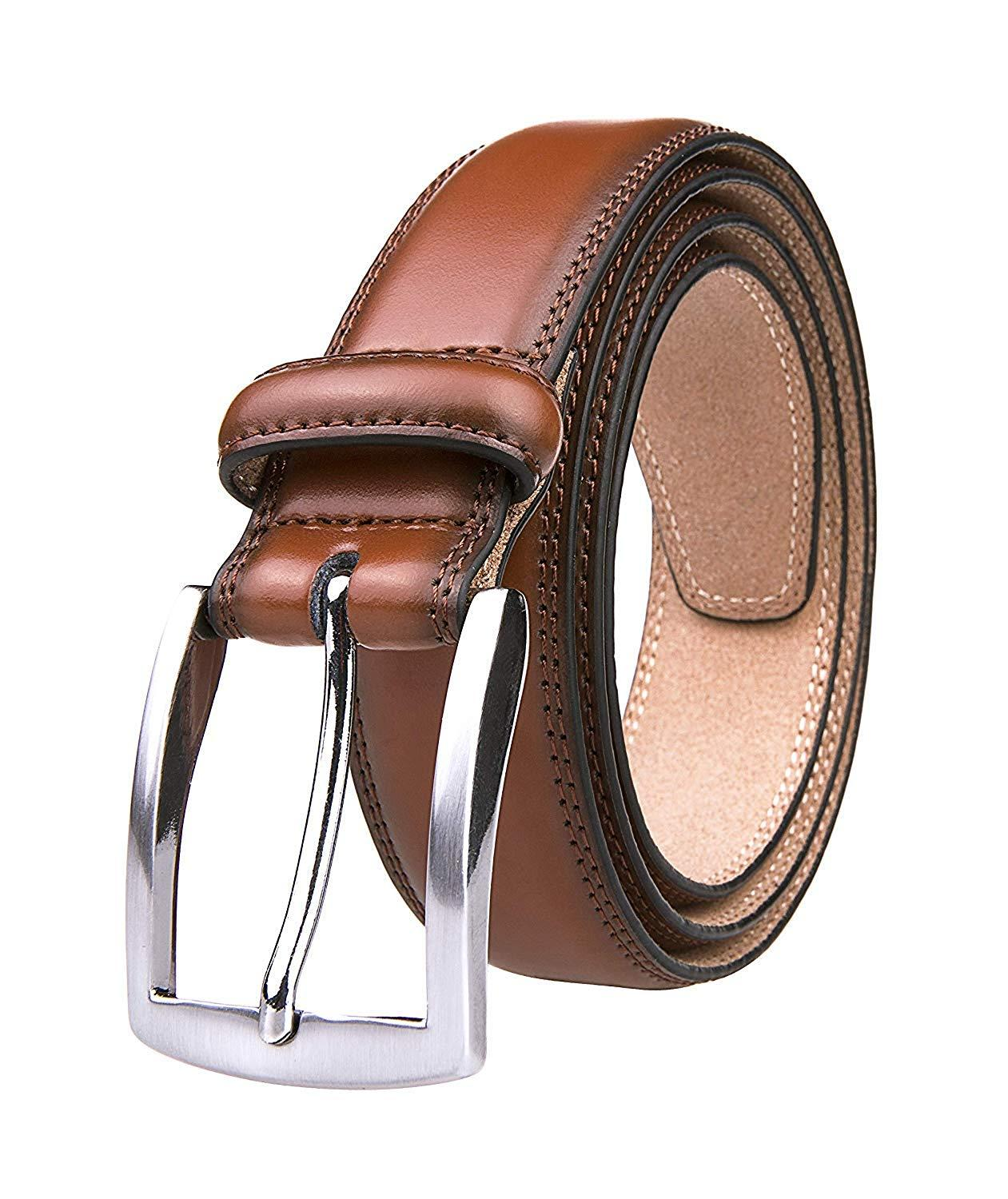 a859d559d21 Men s Genuine Leather Dress Belts Made with Premium Quality ...