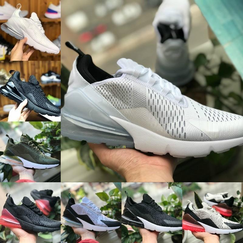 2018 nike air max 270 vapormax airmax off white 270 flyknit chaussures 2018 Nouveau pas cher 270 BE TRUE Blanc Volt triple blanc noir point Punch
