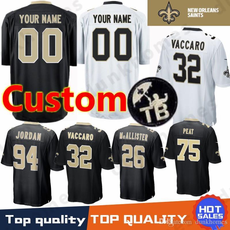 Custom 13 Michael Thomas New Orleans Saints 23 Marshon Lattimore 84 ... b96935a55