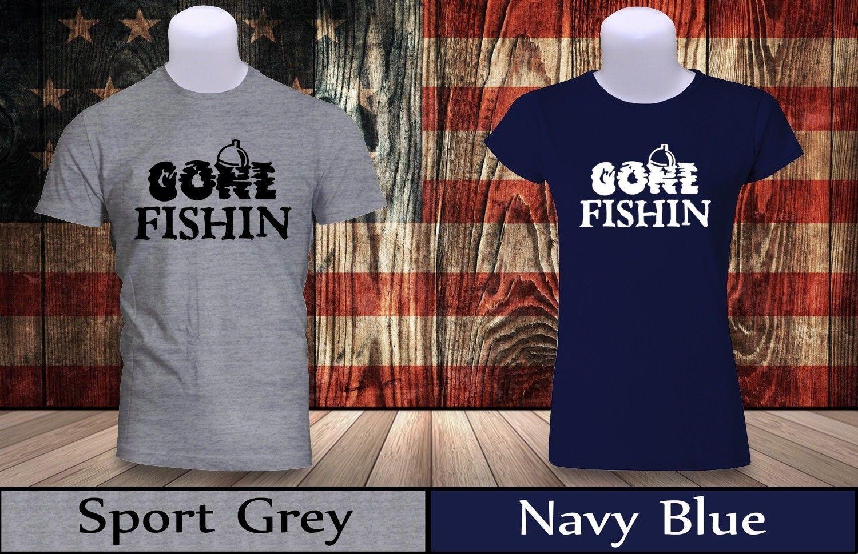 4c9508d6 Gone Fishing Hook And Line Bait Lure Lake Fisherman T Shirt Men/Women Tee  New 5 Cool Casual Pride T Shirt Men Unisex Designer Mens T Shirt Really  Cool ...