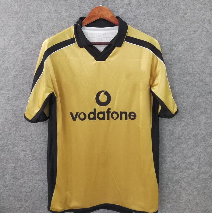 check out c0836 7331b Free shipping Retro Version 100 year man united soccer jersey shirts golde  Man Futbol Camisa Football Camisetas Vintage Shirt Kit