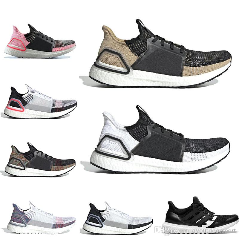 c86f3f4257ddf 2019 Ultra Boost 19 Designers Men Women Running Shoes Ultraboost 5.0 Laser  Red Dark Pixel Core Black Ultraboosts Trainer Sport Sneaker 36 45 From ...
