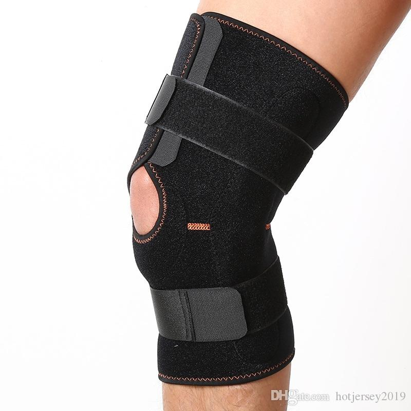 365ef9af87 2019 Adjustable Knee Brace Support Straps Relieves Arthritis, Tendonitis  Pain.Open Patella Dual Stabilizers Non Slip Comfort Neoprene #119448 From  ...