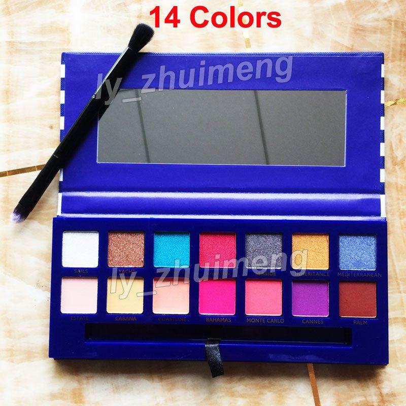 79a276cf59 Sfumature Ombretto Beauty Eye Shadow Palette RIVIERA Con Pennello i ...