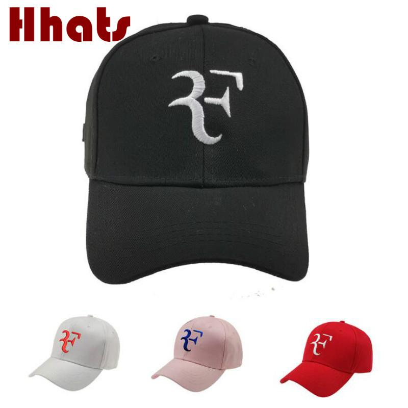 Tennis Star Roger Federer Baseball Cap For Men Adjustable Cotton Embroidery F Snapback Hip Hop Cap Outdoor Sports Trucker