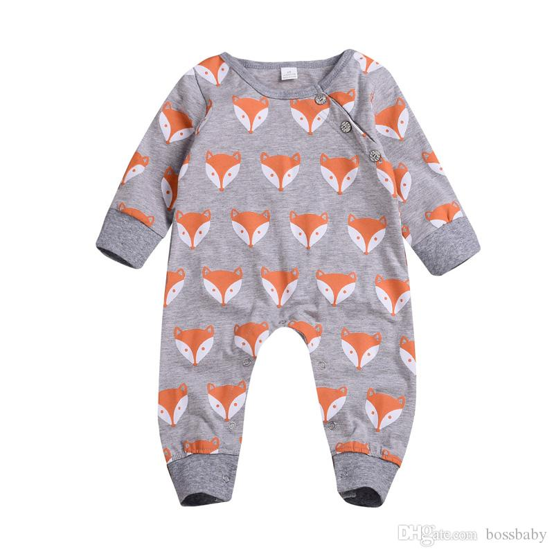 d98ee8724 2019 Kids Designer Jumpsuit Hesdbands Baby Zipper Onesies Long Sleeve Solid  Color Lace Crocodile Pattern Fox Print 61 From Bossbaby, $5.32   DHgate.Com
