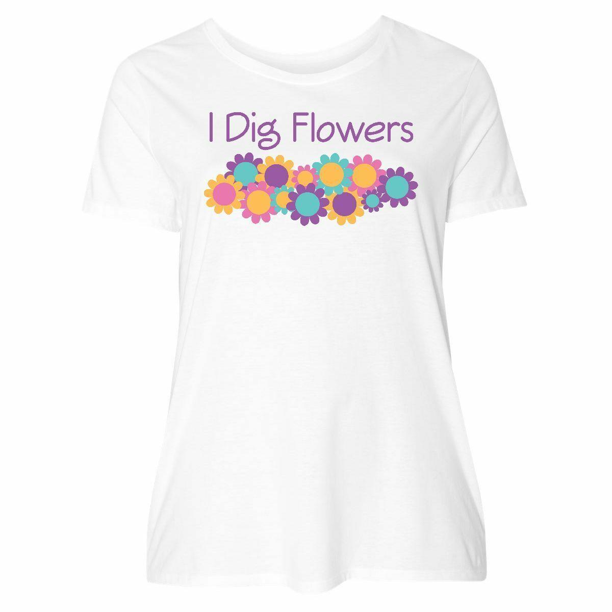 0fbd41074a Compre Inktastic Gardening Flower Gardener Gift Camiseta De Talla Grande  Para Mujer Daisy Garden Funny 100% Algodón Camiseta Fear Cosplay Liverpoott  ...