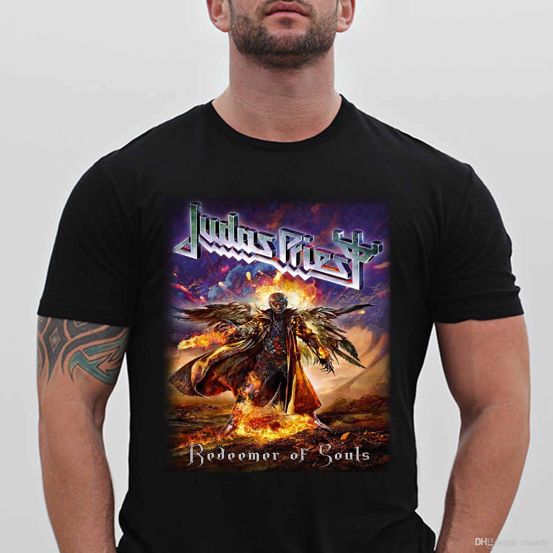 Judas Priest Redeemer Of Souls FullTop TeeUnisex T Shirt S 5XL White T Shirt  Design T Shirt Deals From Ansmile 822dad491