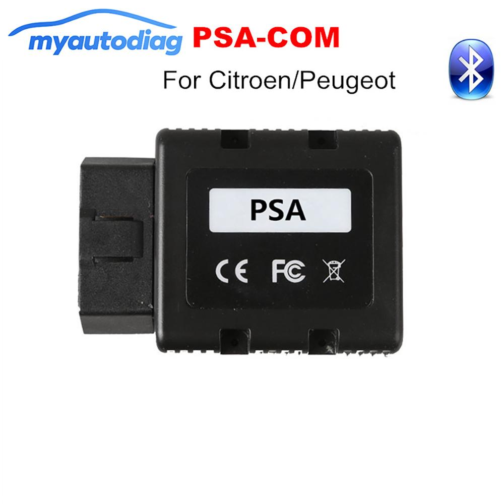 PSA-COM Bluetooth Interface Replace of Lexia 3 PP2000 OBD2  Diagnostic&Programming For Citroen/Peugeot PSACOM PSA COM Code Reader