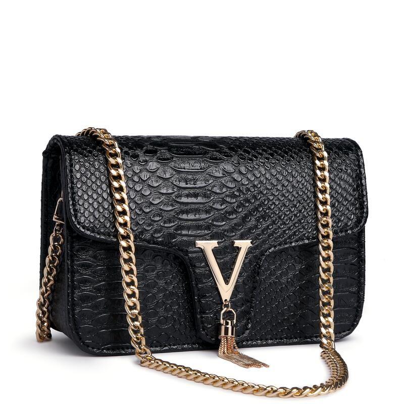 1b15140560295 Großhandel Handtaschen Frauen Berühmte Marke Designer Frauen Messenger Bags  Mode Weibliche Umhängetasche Marke Damen Tote Kette Umhängetasche Von  Clmendlor