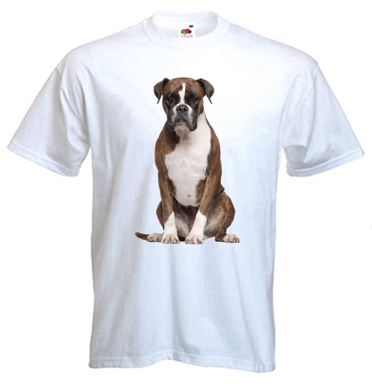 Grosshandel Boxer Dog T Shirt Hunde Haustier Deutsch Grossen S Bis 3xl