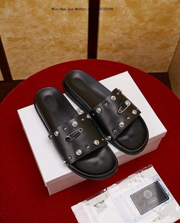 d36b68cf9 Compre Zapatillas De Piel Real Hair Sandalias Para Hombre Chanclas Para  Zapatos De Moda Lindos Zapatillas Para Hombre 0325 A  67.23 Del  Hexieshenghuo ...