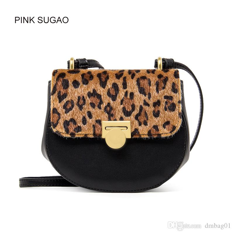 e3960a850ddf Pink Sugao Designer Women Crossbody Bags New Fashion Leopard ...