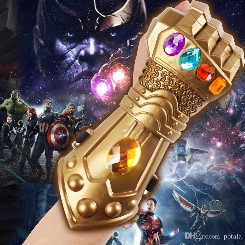 Costumes & Accessories Boys Costume Accessories Kids Boys Girls Avengers 4 Endgame Thanos Gauntlet Plastic Gloves Party Holiday Halloween Cosplay Props Toys For Children High Safety