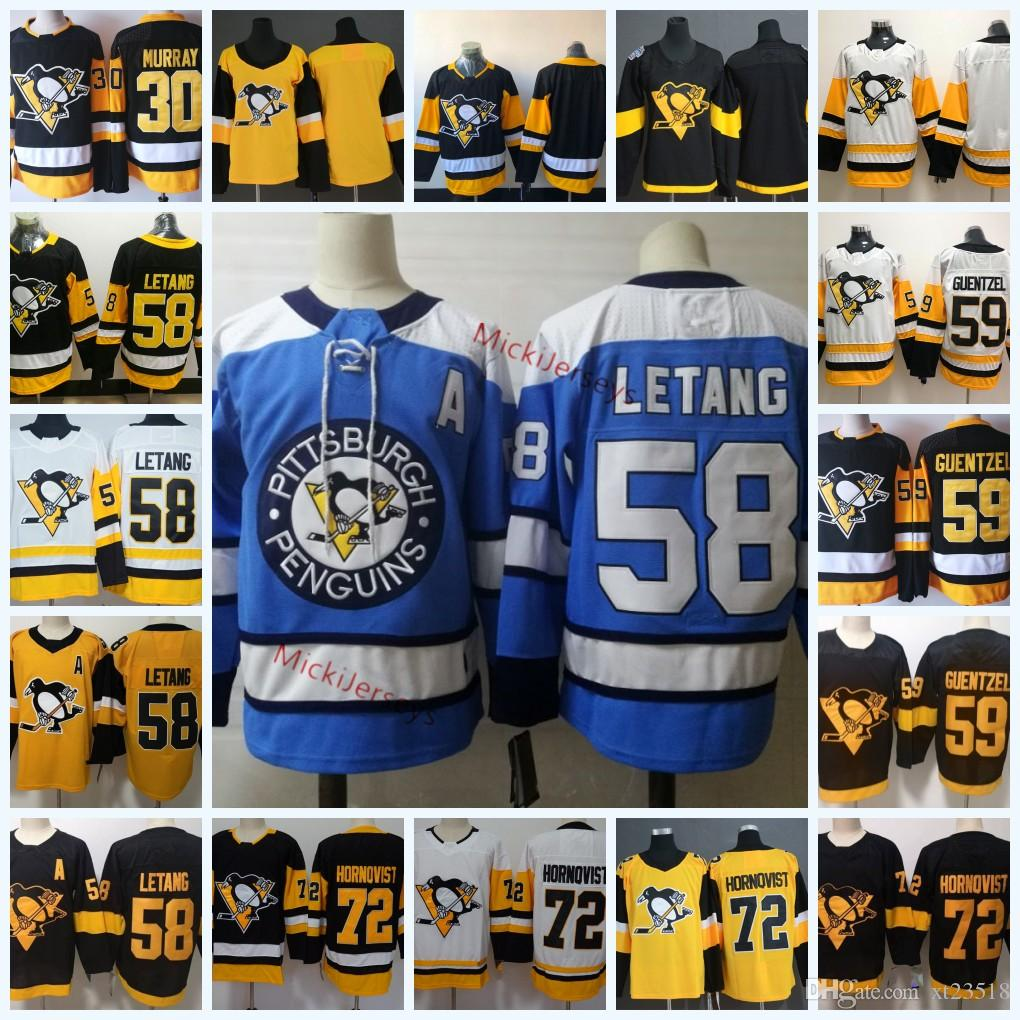 new style 727c4 e5045 Pittsburgh Penguins Kris Letang Jersey 72 Patric Hornqvist 59 Jake Guentzel  30 Matt Murray 2019 Stadium Series Pittsburgh Penguins Jersey