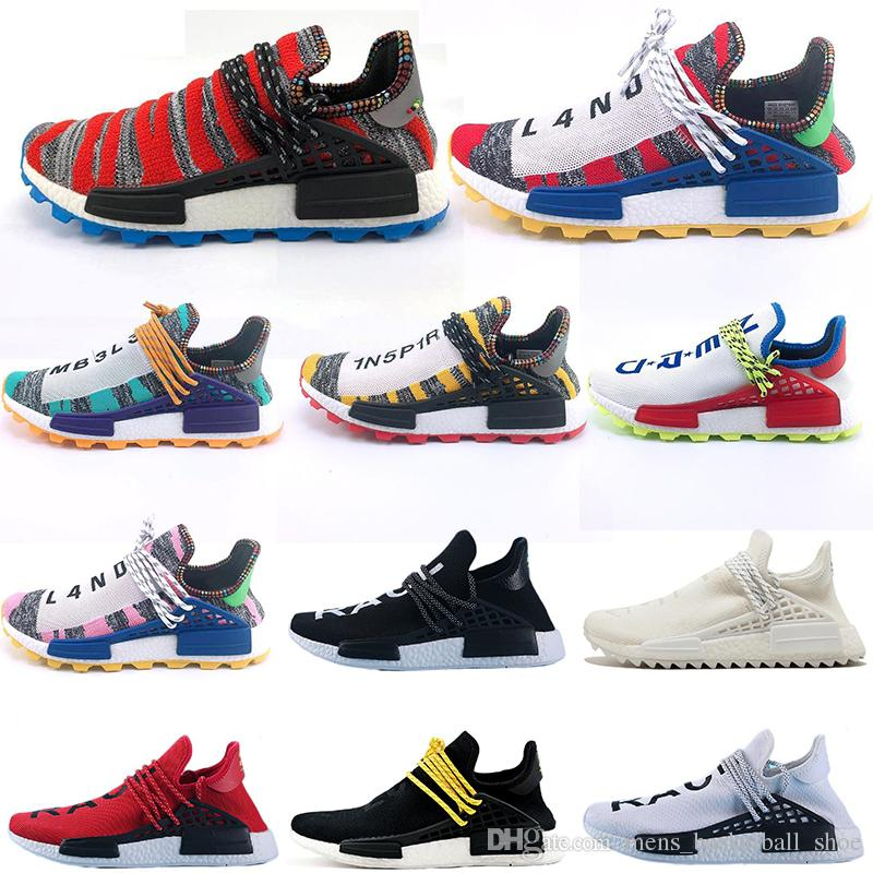 e24d1b58f 2019 Cheap NMD Shoes Human Race Pharrell Williams Wholesale Sports Running  Shoes Discount Athletic For Mens Womens Shoe Trail Shoes Shoes Running From  ...
