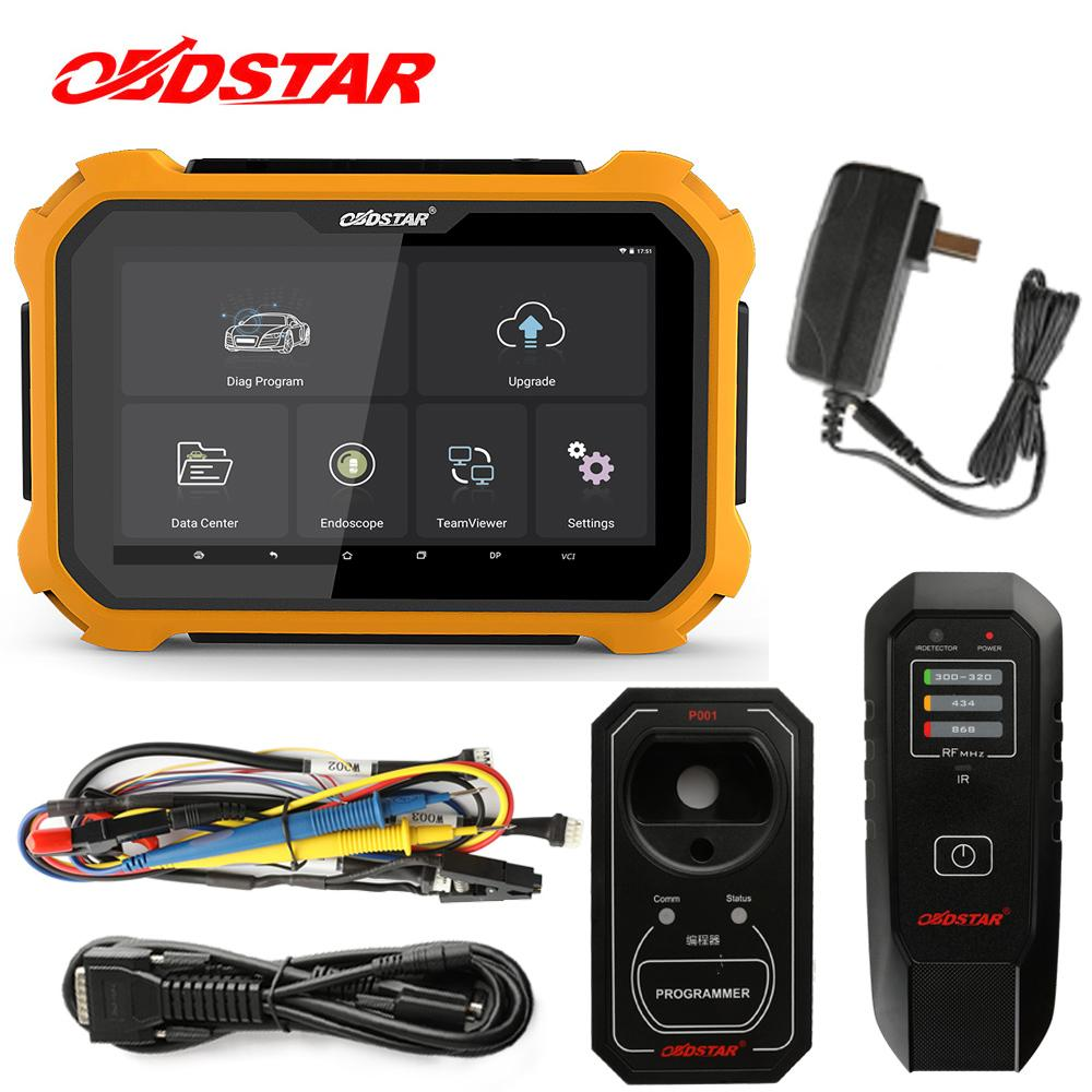 OBDSTAR X300 DP Full Key Master DIY Professional Car Key Prog Mileage  Correction EEPROM Adapter EPB ABS SRS VCI Diagnostic Tool