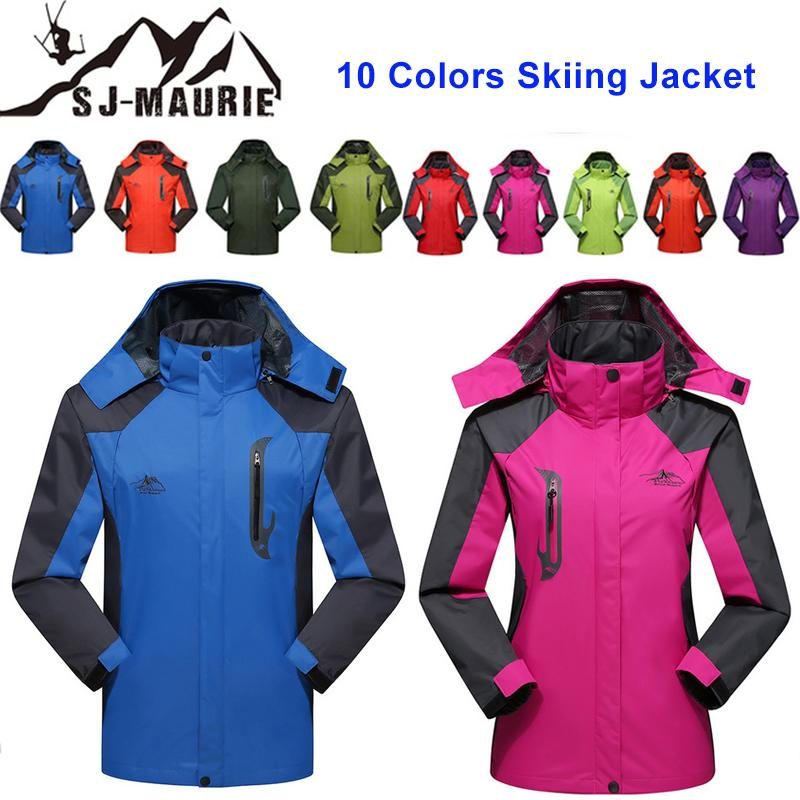 504d5a0e54 SJ-Maurie L-4XL Ski Suit Jacket Couple Windbreaker Snowboarding Breathable  Men Women Winter Sports Jacket Hiking Snowing Sets C18112301 Online with ...