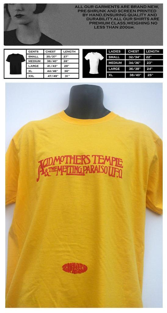 40ef95b257c0 ACID MOTHERS TEMPLE T SHIRTFunny Unisex Casual Tshirt Shirts And T Shirts  Buy Cool T Shirts From Wildmarkstoree, $12.96| DHgate.Com